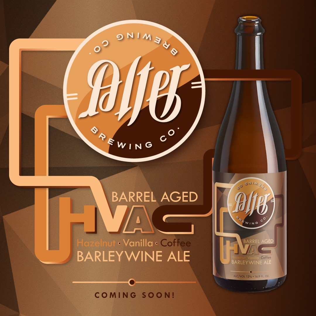 Graphic for Alter Brewing's HVAC