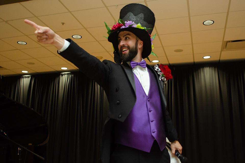 Mad Hatter Impersonation