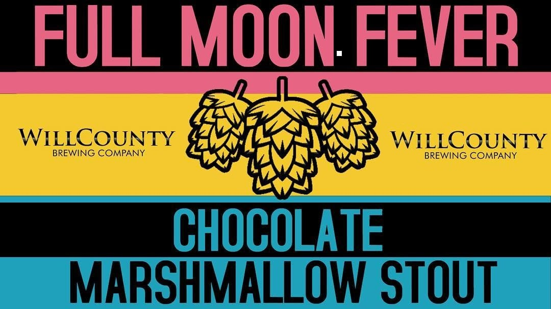 Graphic for Full Moon Fever from Will County Brewing Company