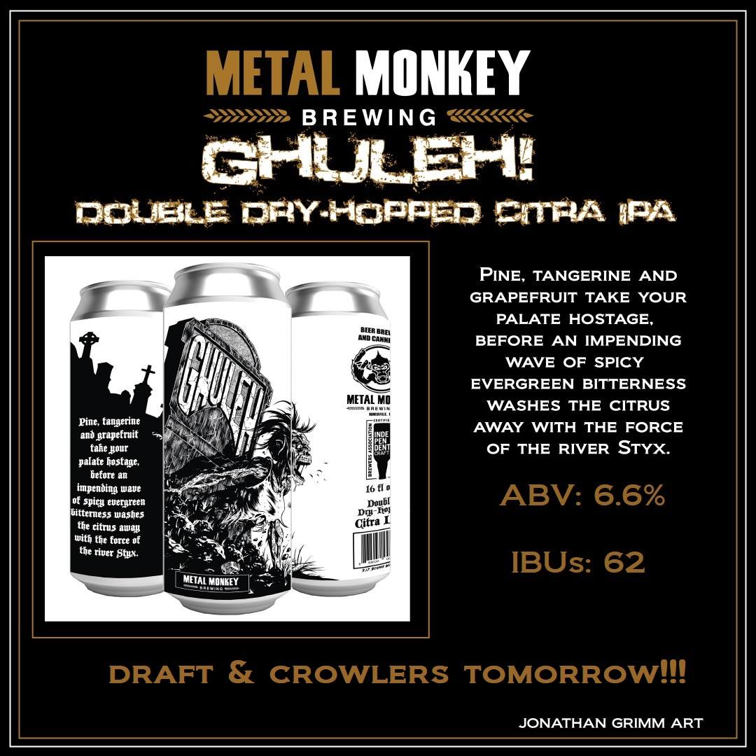Graphic - Ghuleh! from Metal Monkey Brewing