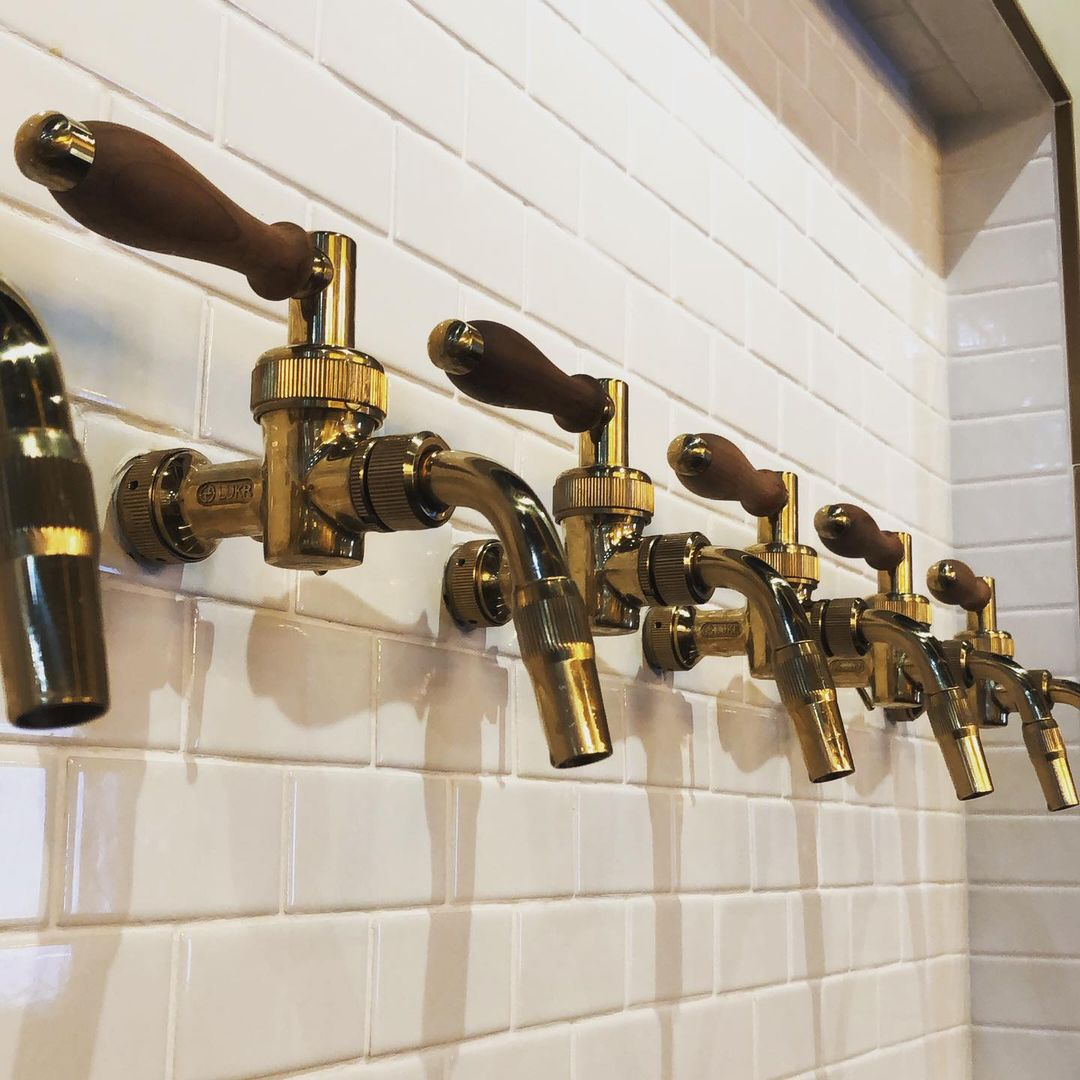 Goldfinger Brewing's faucets
