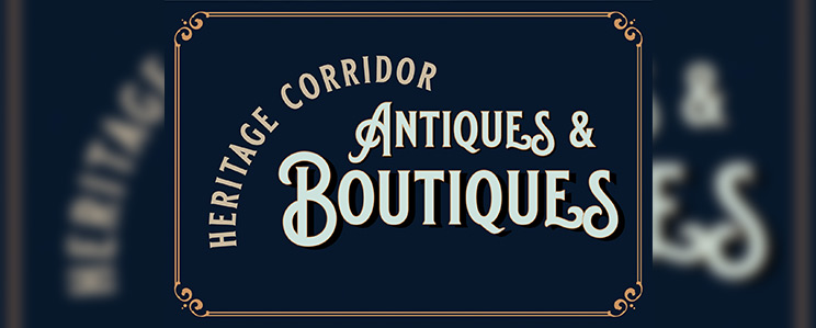 Header graphic for Heritage Corridor Antiques and Boutiques