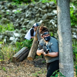 Tactical Laser Tag at The Forge: Lemont Quarries