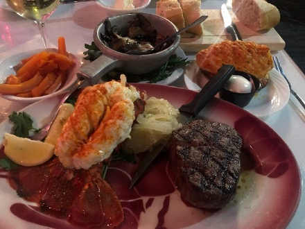 Surf and Turf and Woody's Steak House in Ottawa, IL