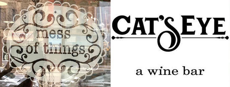 A mess of things and CatsEye logos