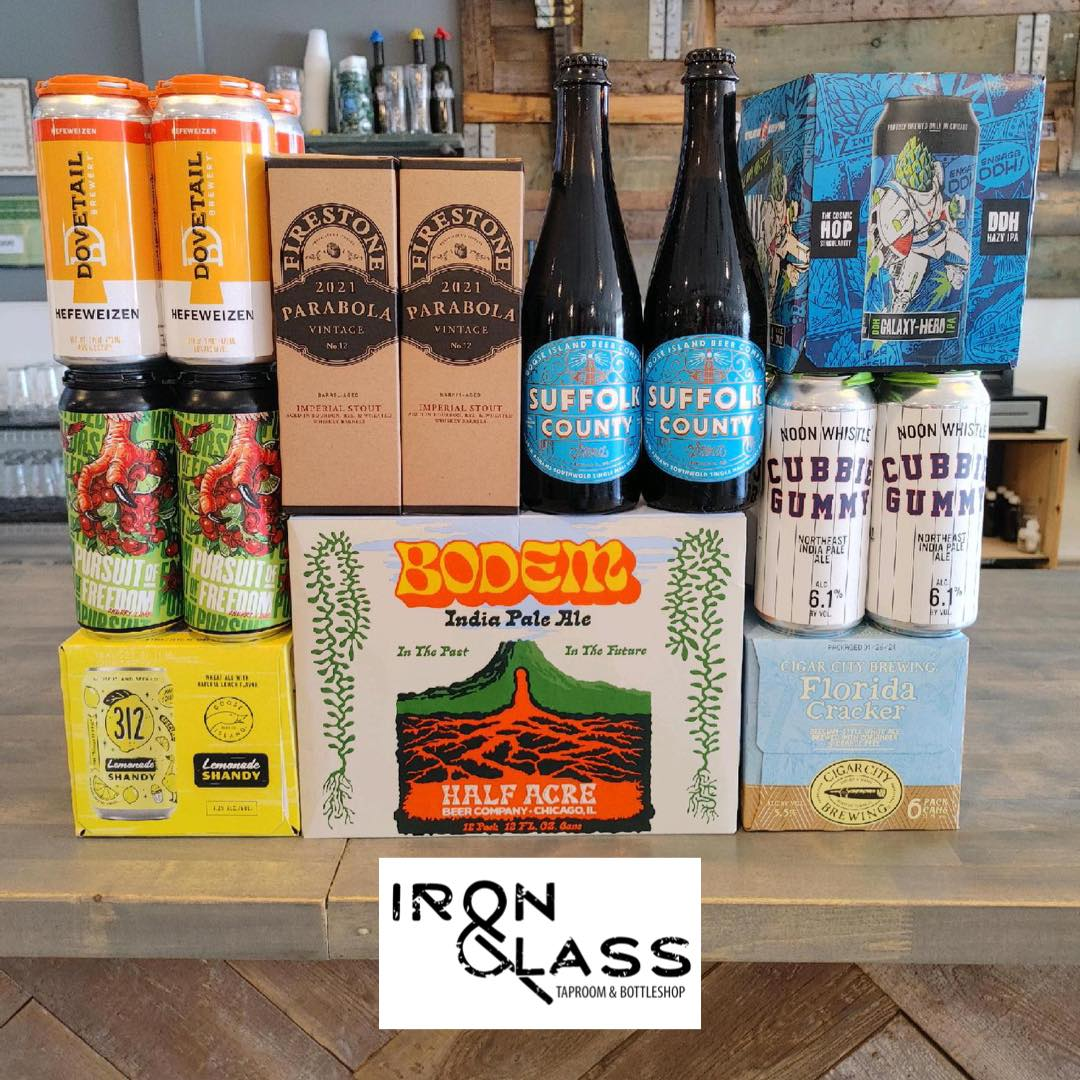 Beer at Iron&Glass Romeoville