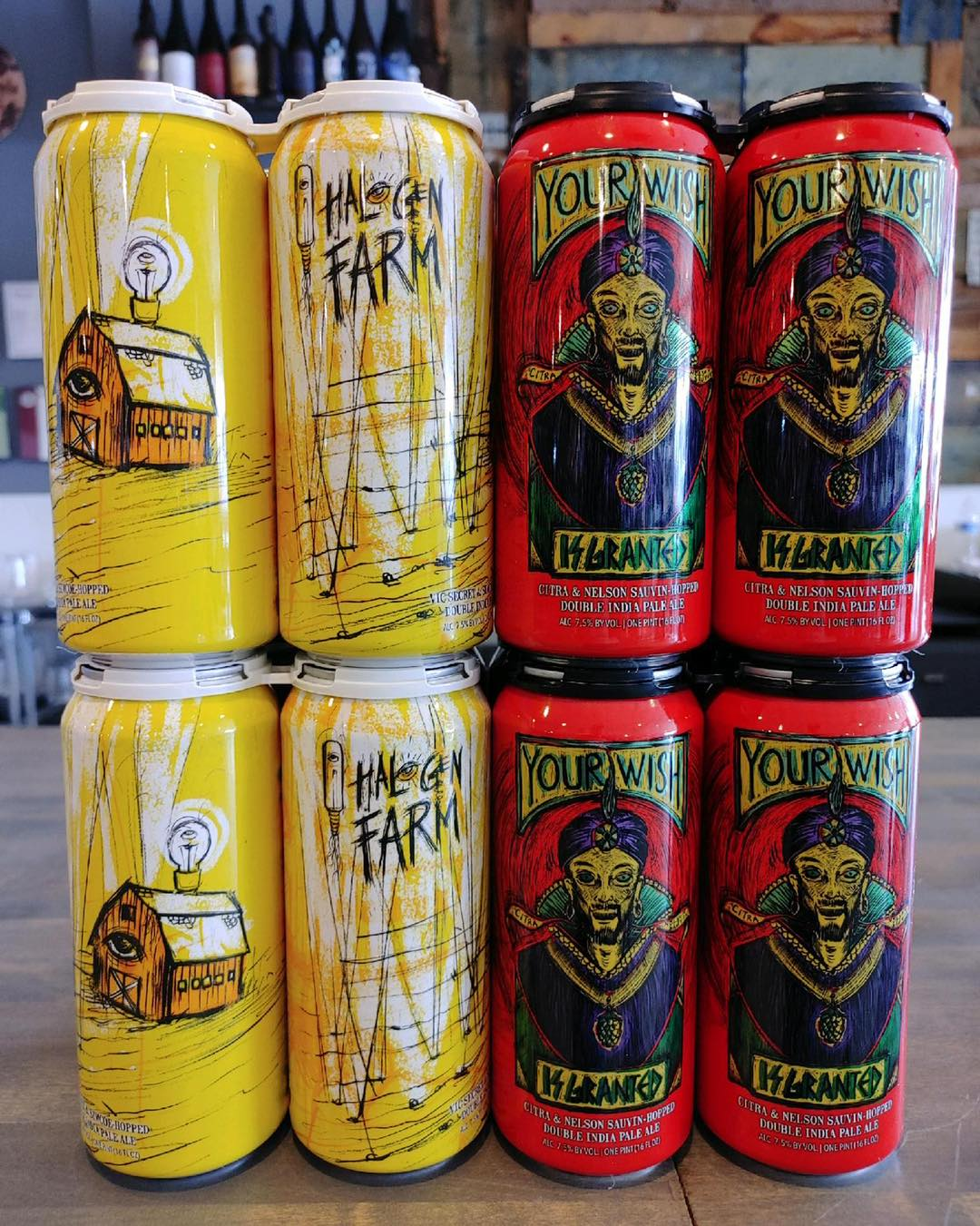 Cans from Hop Butcher for The World