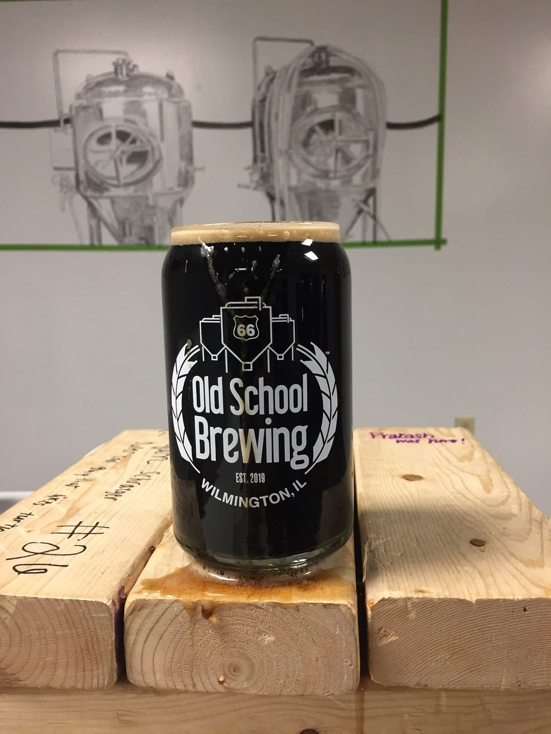 Push Your Luck by Rt66 Old School Brewing