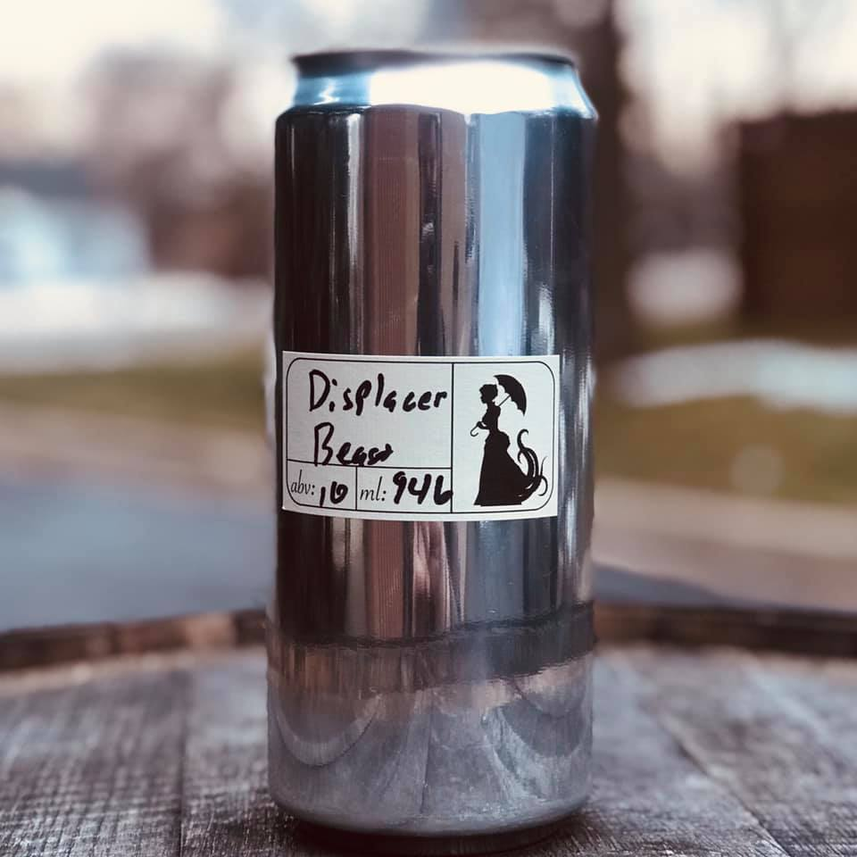 Can of beer from Miskatonic