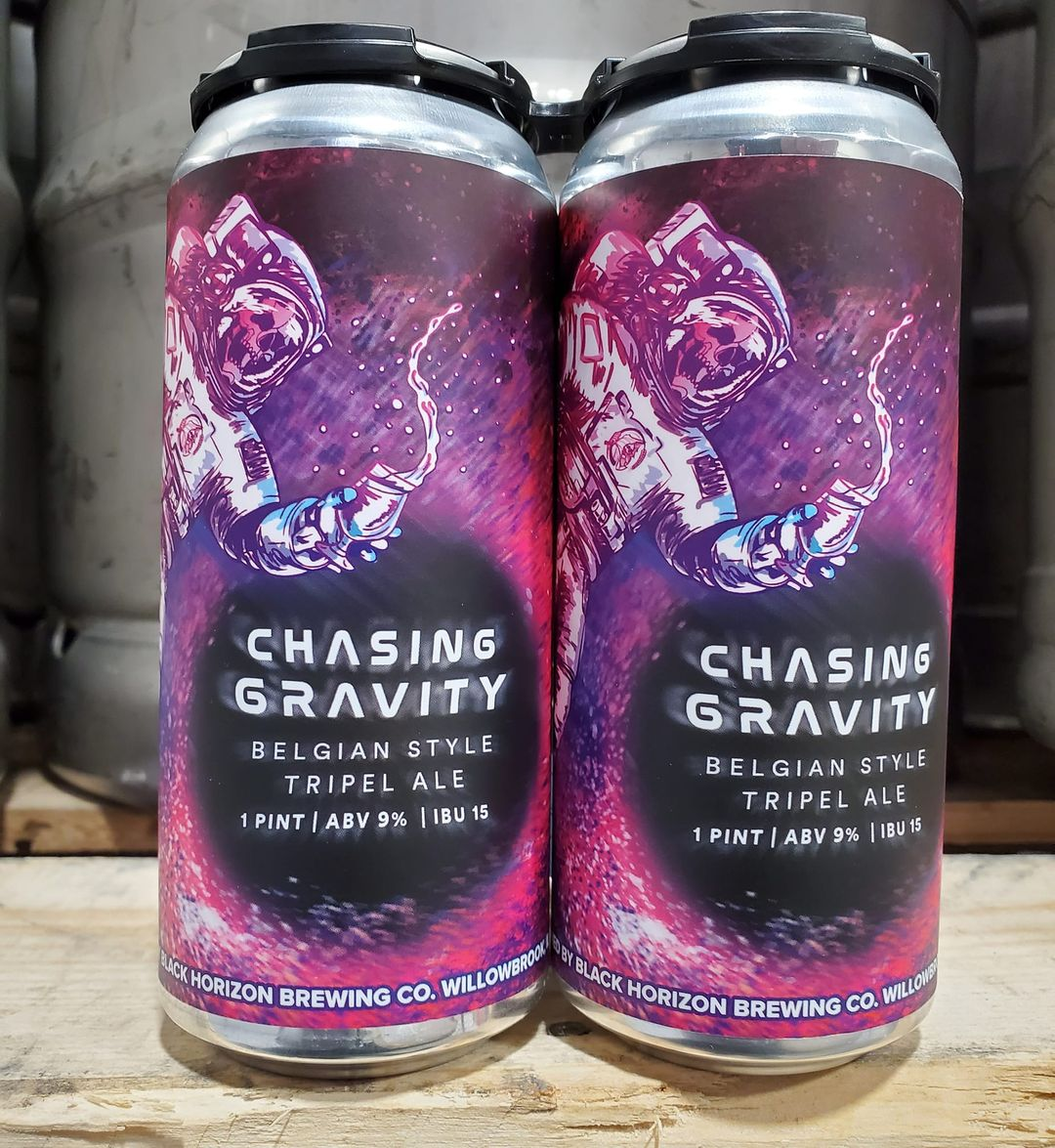 Glass of Chasing Gravity by Black Horizon Brewing Company