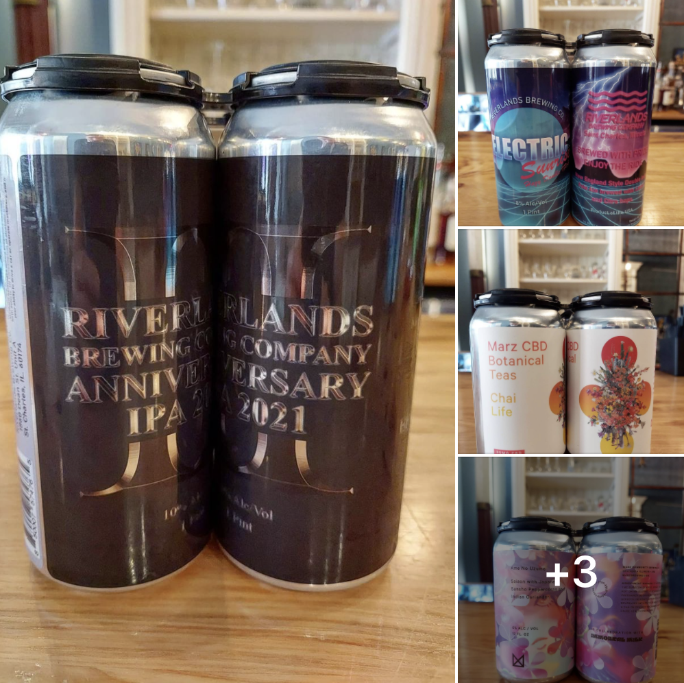 Several different photos from Riverlands Brewing and Marz Breiwng