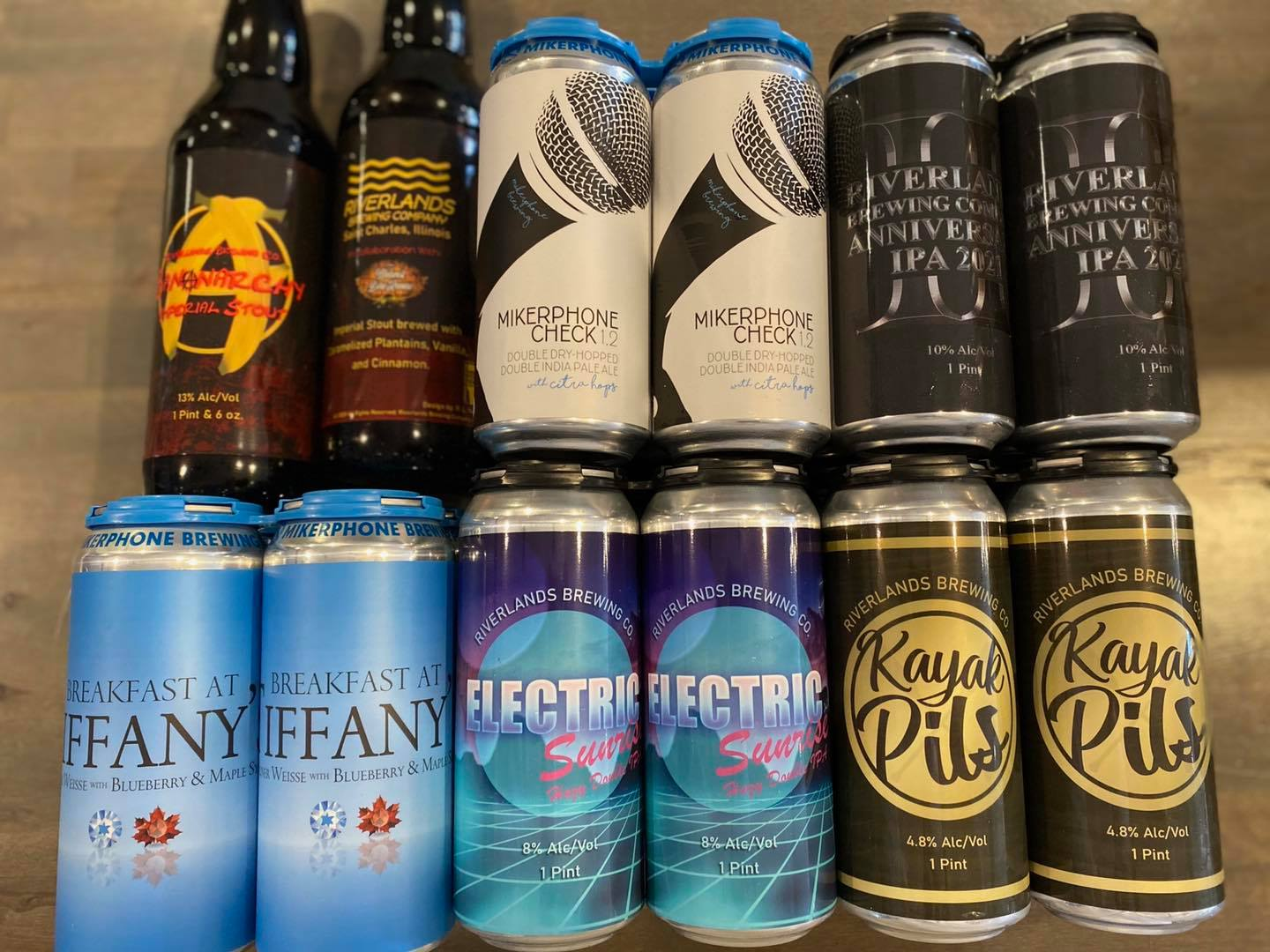 Various Cans at Iron&Glass