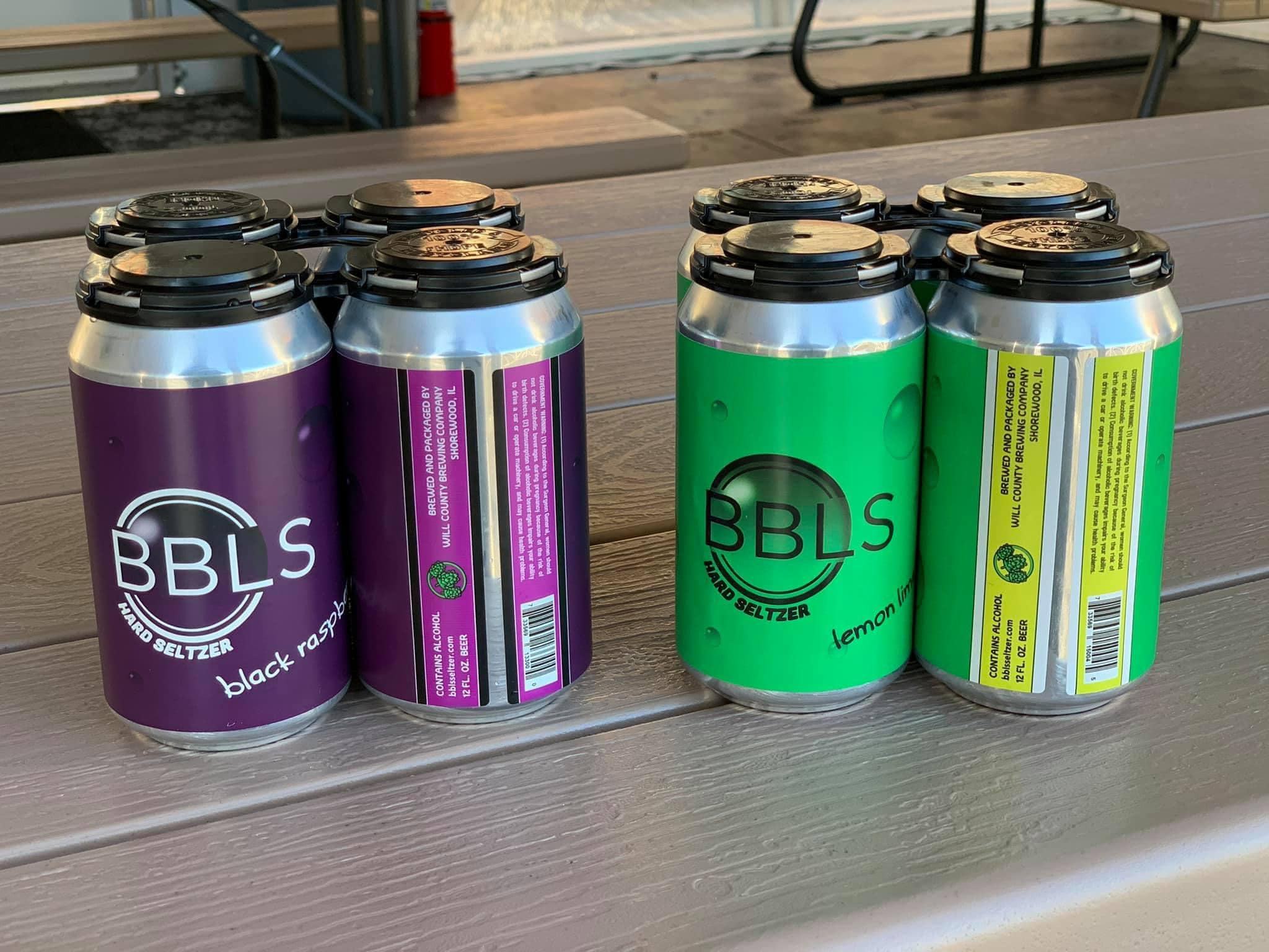 BBLS Hard Seltzer at Will County Brewing