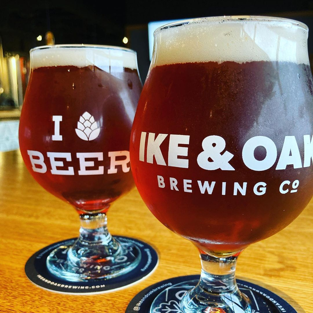 new Beer from Ike & Oak Brewing