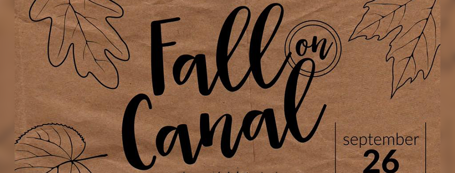 Fall On Canal Sign