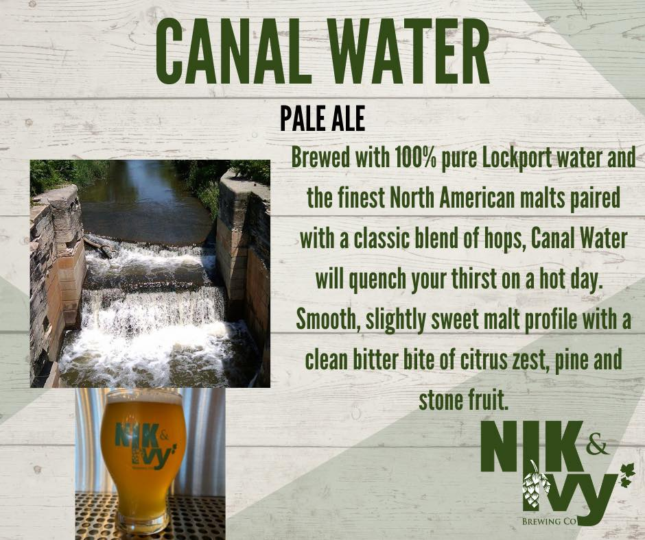 Grahpic for Nik & Ivy's Canal Water