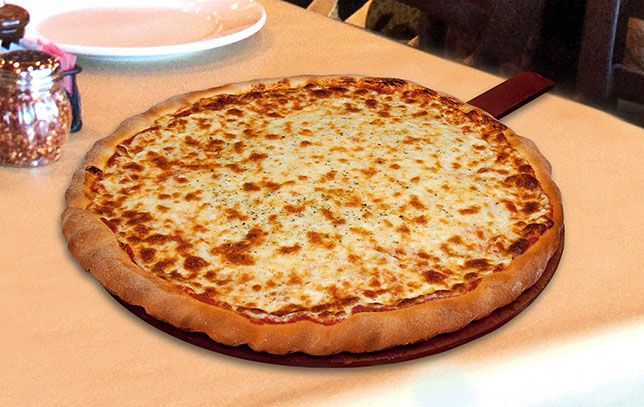 Cheese Pizza from Macianos'