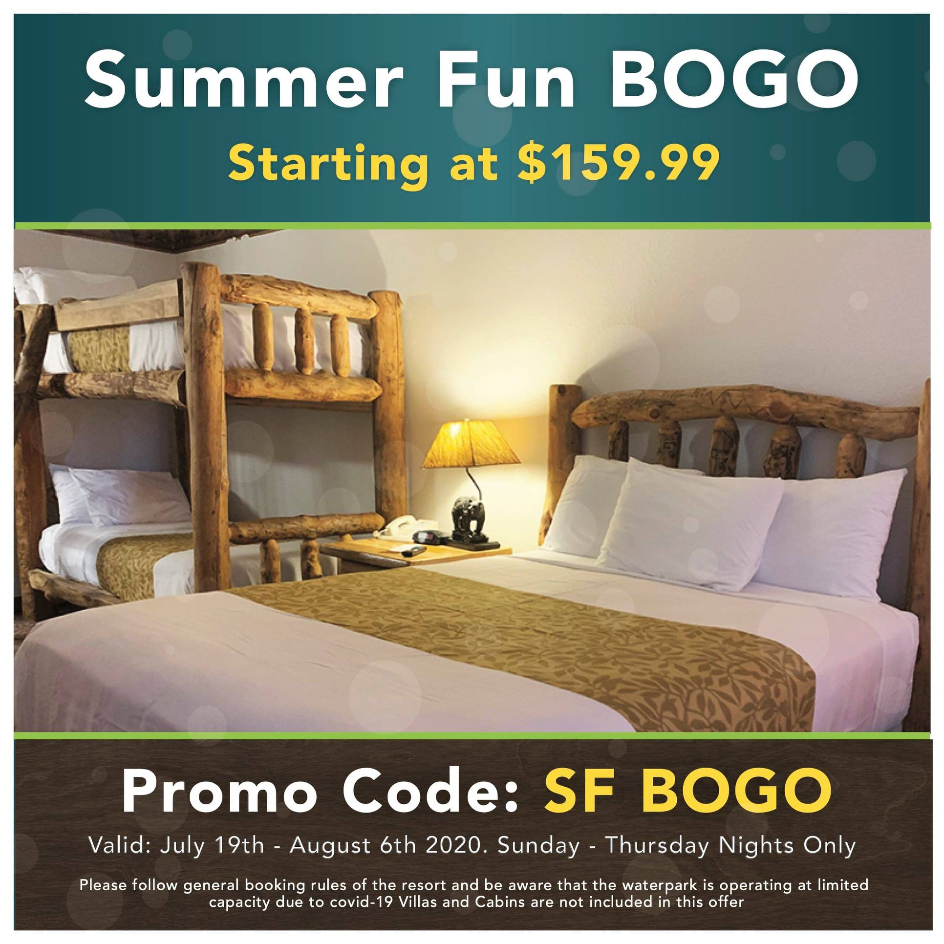 Summer Fun BOGO graphic