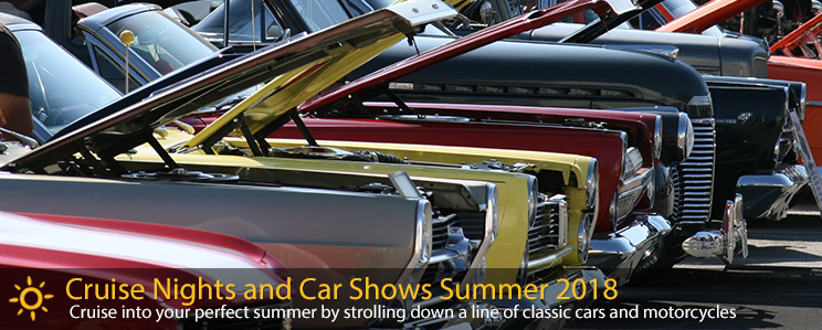 2018 Summer Cruise Nights and Car Shows