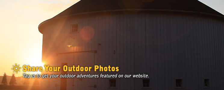 Share Your Outdoor Photos - Tag us to get your outdoor adventures featured on our website.