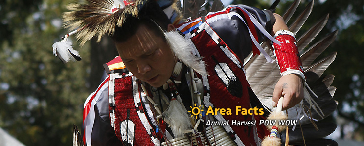 Area Facts - Annual Harvest POW WOW