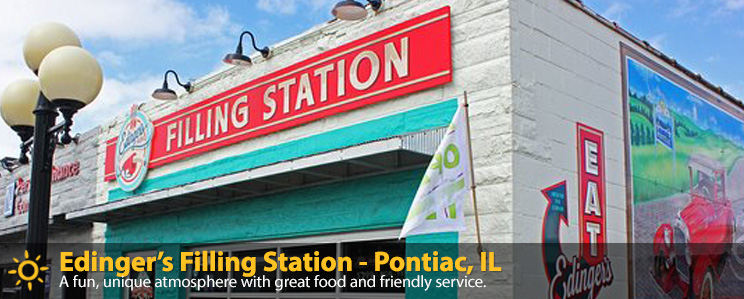 Edinger's Filling Station